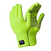 DexShell TouchFit Gloves - L Hi-Vis Yellow