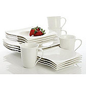 Maxwell & Willaims Motion 16 Piece Dinner Set