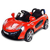 Caretero Aero Battery Operated Ride-On Car (Red)