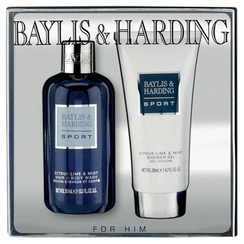 Baylis & Harding Sport For Him Citrus Lime & Mint 2 Piece Gift Set