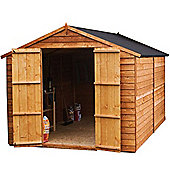 10x6 Windowless Overlap Apex Shed