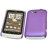 iTALKonline Mesh Hard Case - HTC WildFire S - Purple
