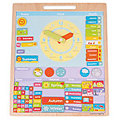 Bigjigs Toys Magnetic Weather Board