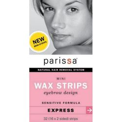 Wax Strips Mini Eyebrow Design