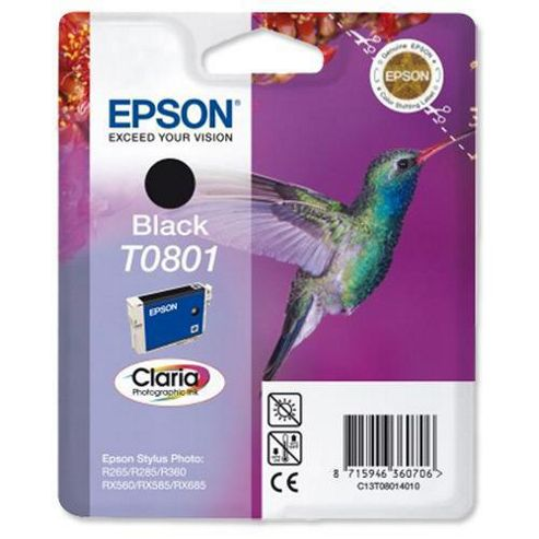 Epson T0801 Ink Cartridge Black