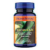 Higher Nature Bromelain 90 Veg Capsules