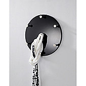 Urbane Designs Wall Coat Rack - High Gloss Black
