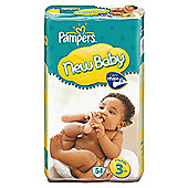 Pampers New Baby Size 3 (Midi) Economy Pack 50