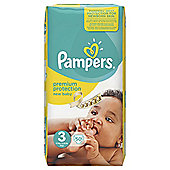 Pampers New Baby Size 3 Essential Pack 50 Nappies