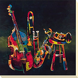 Funky Music Canvas Picture