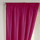 Rectella Sunset Pink Thermal Backed Pencil Pleat Faux Silk Curtains -229x229cm