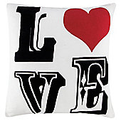 LOVE Cushion, Natural