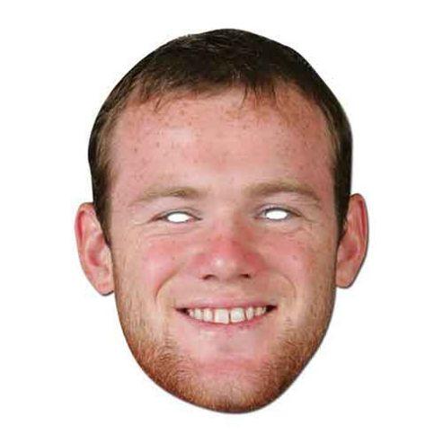 Wayne Rooney Fancy Dress Masquerade Mask
