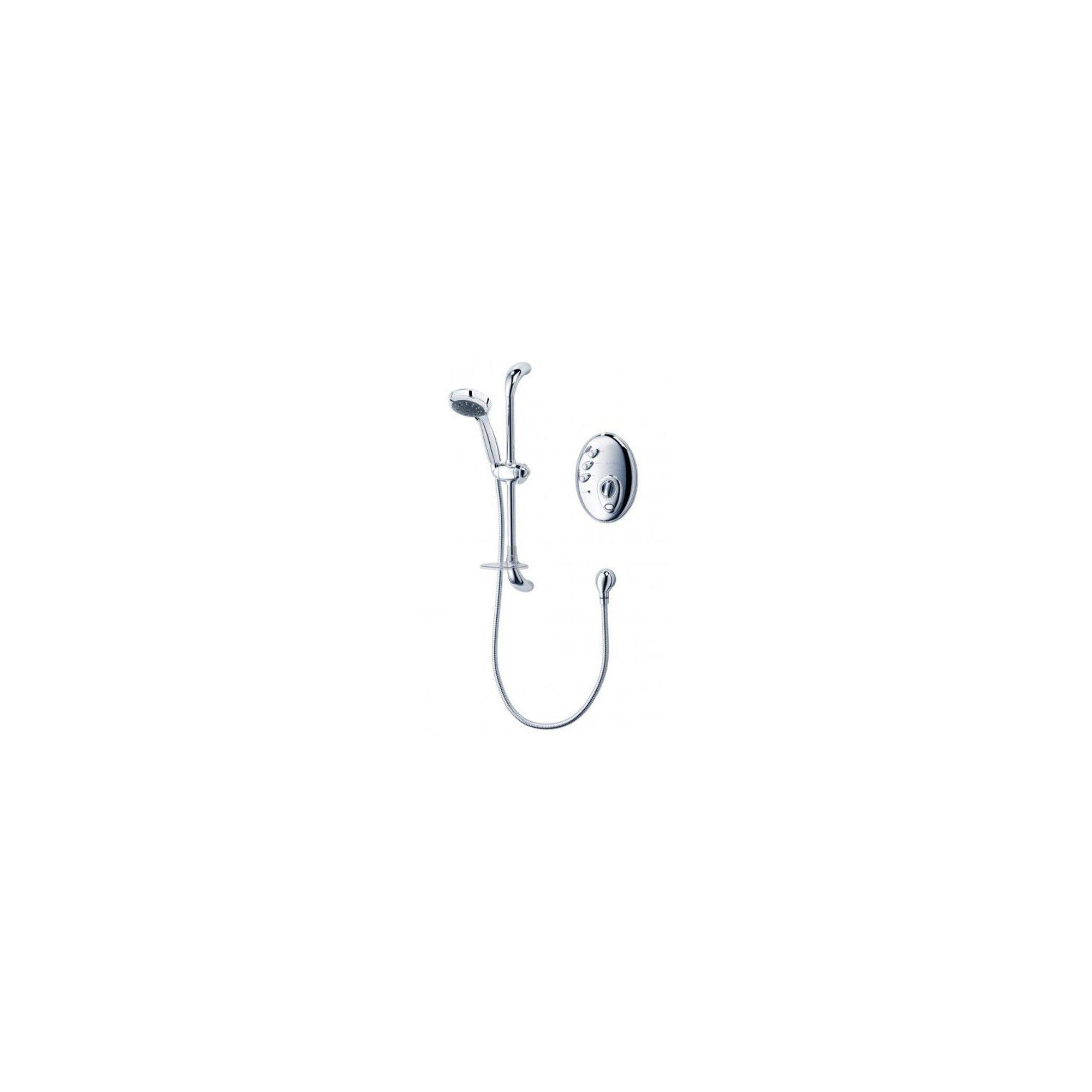 Triton Aspirante Digital Remote Electric Shower Chrome 10.5 kW at Tesco Direct