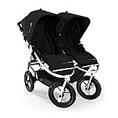 Bumbleride Indie Twin Stroller Jet Black - FREE Raincover