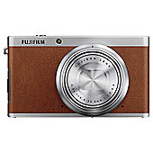 Fujifilm XF1 Digital Camera, Brown, 12MP, 4x Optical Zoom, 3 LCD Screen