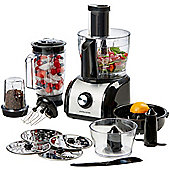 Andrew James Multifunctional Food Processor in Black
