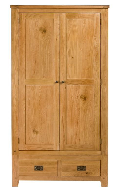 Elements Brunswick Bedroom 2 Door and 2 Drawer Wardrobe