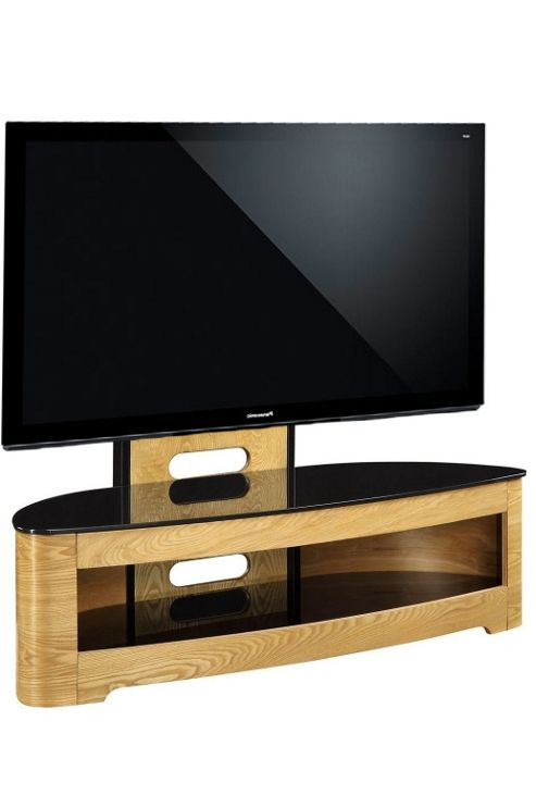 Jual JF209 Cantilever Oak TV Stand