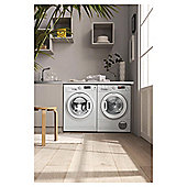 Hotpoint S-Line SWMD10647 C  Washing Machine, 10Kg Load, 1400 RPM Spin, A+++ Energy Rating, White