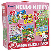 Hello Kitty 10-in1 Mega Puzzle Pack