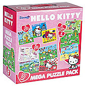 Hello Kitty 10-in-1 Mega Jigsaw Puzzle