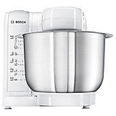 Bosch MUM4807GB Kitchen Machine - White/Stainless Steel