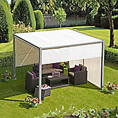 Soho 3m Aluminium Gazebo with Adjustable Panels