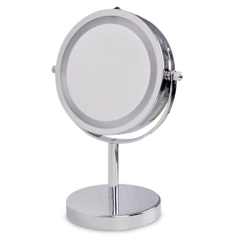 Lighted Vanity Mirror Battery Operated : Buy Battery Operated Illuminated LED Magnifying Vanity Mirror in Chrome from our Make-up Mirrors ...