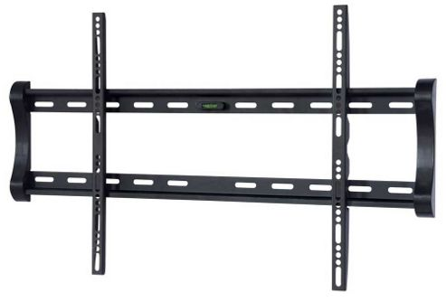 UM122M Black Universal Super Thin Fixed Wall Mount Bracket up to 65 inch