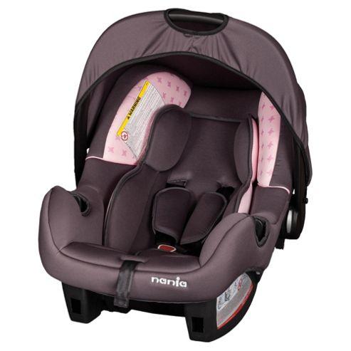 Beone Car Seat, Group 0+, Pink Star Nania