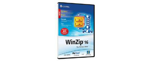 COREL - COMMERCIAL BOX - WINZIP 16 PRO SINGLE USER - DVD CASE UK
