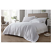 Elegant Living Eloise floral embroidery duvet white double