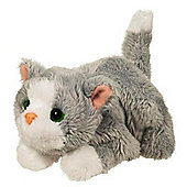 Furreal Friends Snuggimals Snug-a-Muffin Grey Kitten