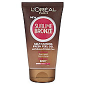 L'Oréal Sublime Bronze Self-Tanning Gel 150ml
