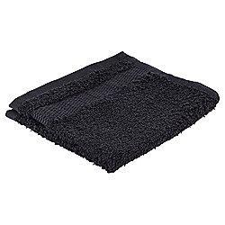 Tesco Basics Face Cloth, Black