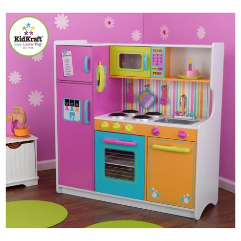 Buy Kidkraft Deluxe Big And Bright Kitchen From Our Cooking Role Play Range Tesco