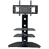 MMT CB55 Black Swivel Cantilever TV Stand