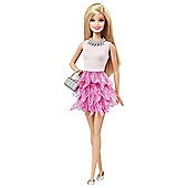 Barbie Fashionistas Feather Skirt Doll
