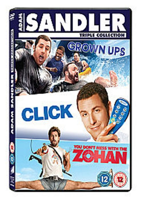 Click / Grown Ups / You Don'T Mess With The Zohan (DVD Boxset)