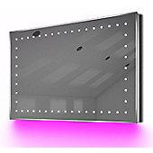 Ambient Shaver LED Bathroom Illuminated Mirror With Demister Pad & Sensor K171P
