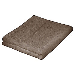 Tesco Pure Cotton Hand Towel Mocha