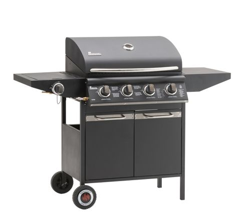 buy landmann grill chef 4 burner gas bbq from our camping cooking range. Black Bedroom Furniture Sets. Home Design Ideas