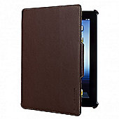 Techair Folio Stand Case (Brown) for iPad Mini