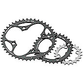 Stronglight 4-Arm/104mm Chainring: 46T With Pins.