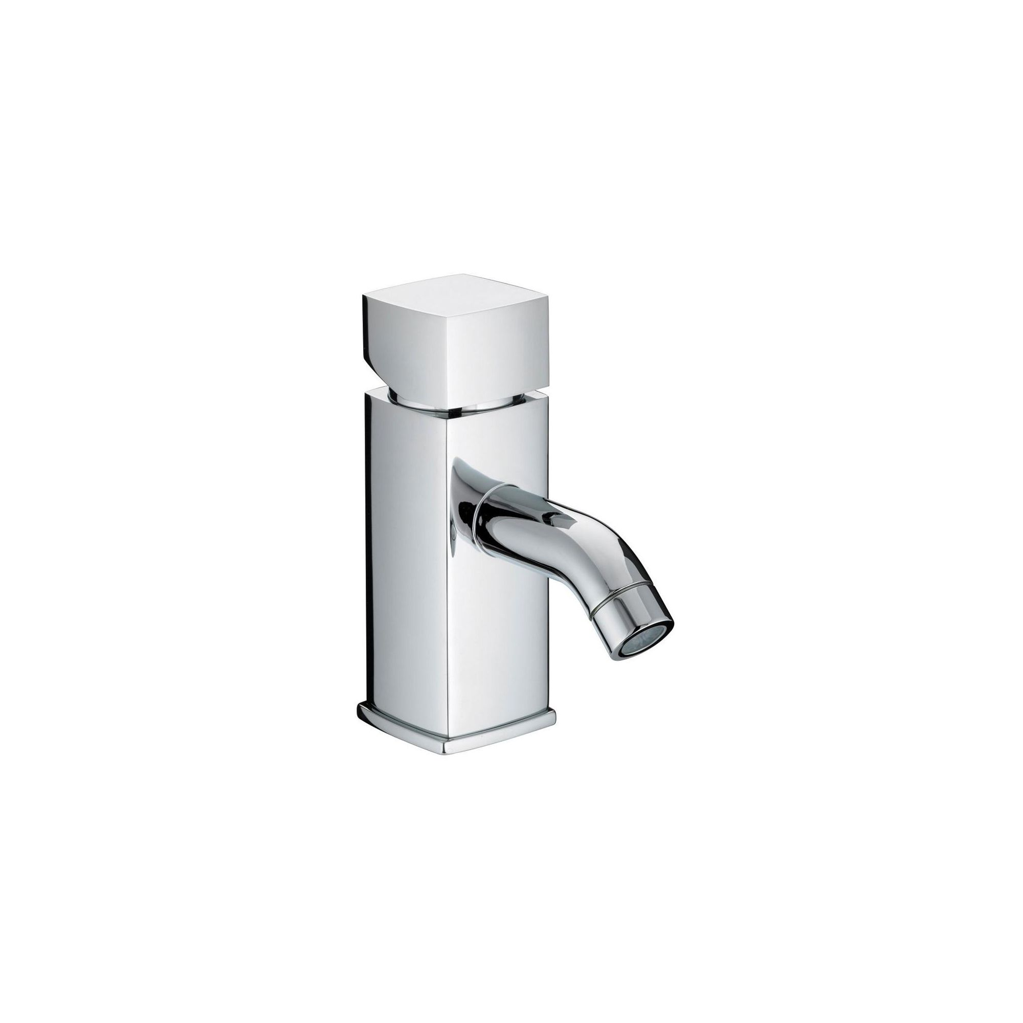 Bristan JS2 Square 1 Hole Bath Filler Tap Chrome Plated at Tescos Direct