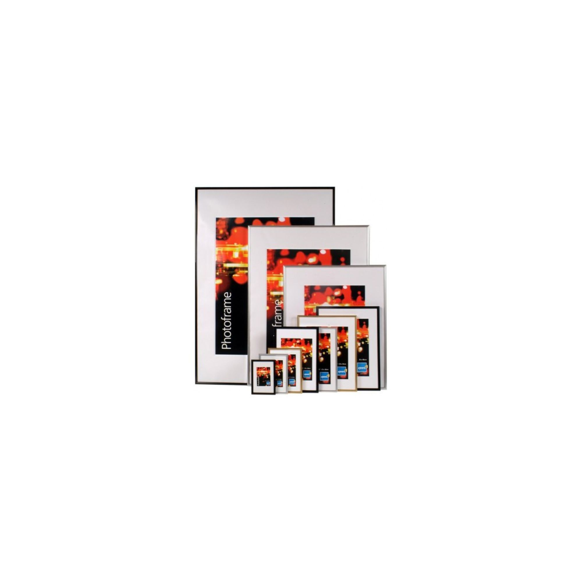 kenro-fr1015b-frisco-6x4-plastic-photo-frame-black