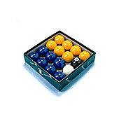 Aramith Premier 2'' Blue & Yellow Pool Ball Set