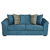 Toronto Fabric Large Sofa Teal