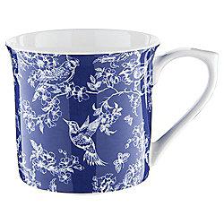 Tesco Toile Navy Palace Mug Single
